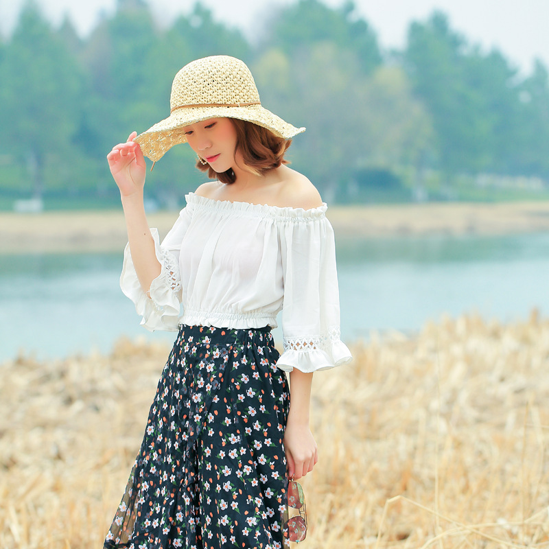 Summer Hollow Hats For Women Straw Sun Hat Lady Girls String Bow Beach Hat Floppy Sunshade Female Travel Folding Chapeu