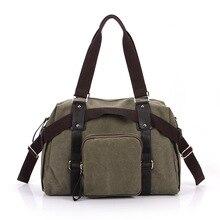 Azolla brand counters the trend of fashion Korean cotton environmentally friendly canvas bag handbag shoulder bag casual handbag