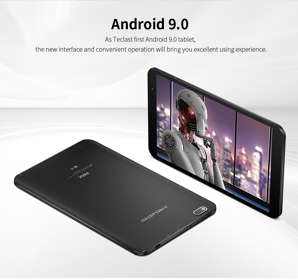 Teclast P80X 8 inch Tablet Android 9.0 4G Phablet SC9863A Octa Core 1280*800 IPS 2GB RAM 32GB ROM Tablet PC Dual Cameras GPS
