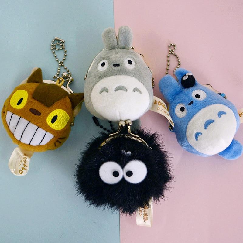 Sammeln & Seltenes Plüsch-schlüsselanhänger Diplomatisch Ivyye 6 Cm Totoro Kätzchen Bus Anime Gefüllte Plüsch Puppen Kette Anhänger Flauschigen Ornament Puppe Keychain Cartoon Weiche Spielzeug Geschenke Neue