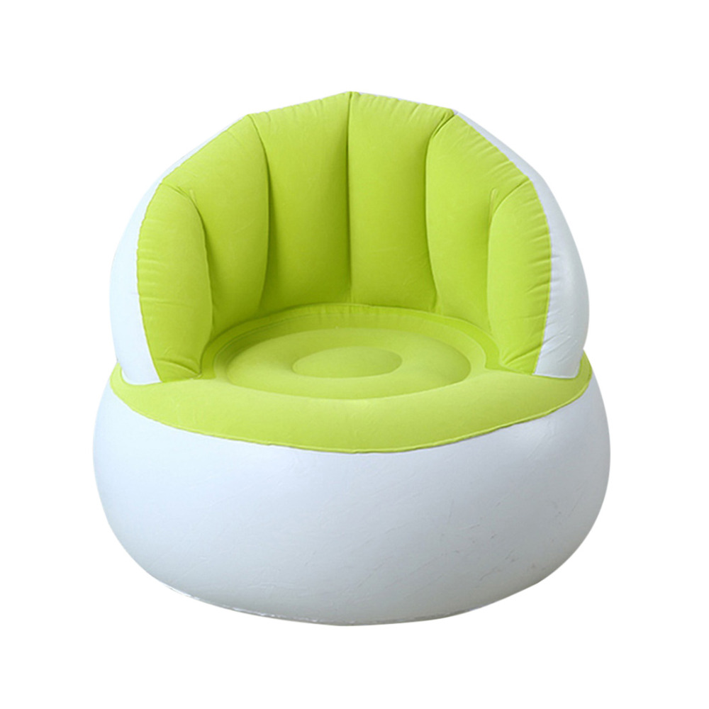 Inflatable Bean Bag Chair Cover for Living Room Baby Chair Support Seat Sofa Bed Furniture Inflatable Sofa Lazy Kid Chair цена
