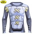 \ Línea Walker \ Classic Anime Personajes 3D Camiseta TAICHI YAGAMI Cosplay Digimon Digimon T Shirt Men Casual tight completo mangas