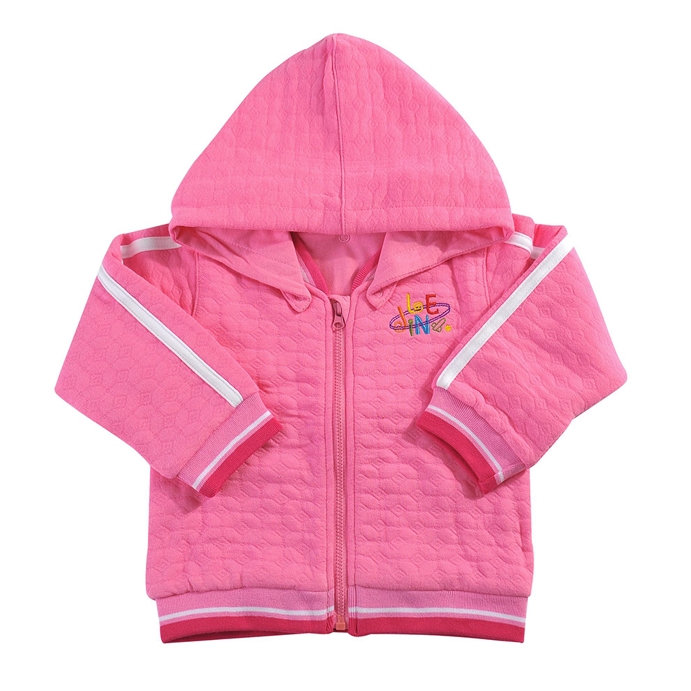 Outerwear Hoodies Spring Girl Toddler Autumn with Embroidery for Long-Sleeve