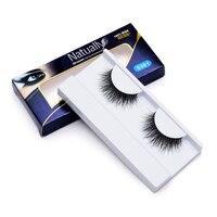Women S Fashion High Quality False Eyelash 3D 1 Pair Real Mink Naturally Eyelash For Eye