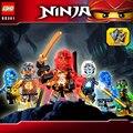 Элементарного phantom Ninjagoeinglys. строительный блок Джей Кай Зейн Коул Ллойд ninja кирпичи оружие совместимые legoeinglys. игрушки для детей