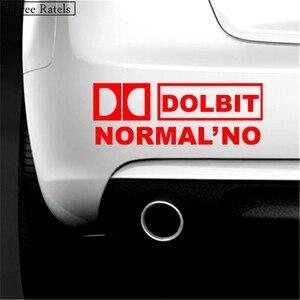 Image 3 - Trois Ratels TZ 022 9.08*25cm 1 5 pièces DOLBIT NORMALNO voiture autocollant voiture autocollants