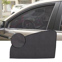New Car Sun Visor Summer Thickened Mesh Magnetic Curtain Shade UV Protection Side Window