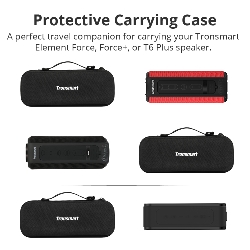 Tronsmart T6 Plus Bluetooth Speaker 40W Portable Speaker Deep Bass Soundbar with IPX6 Waterproof, Power Bank Function SoundPulse 101 (2)