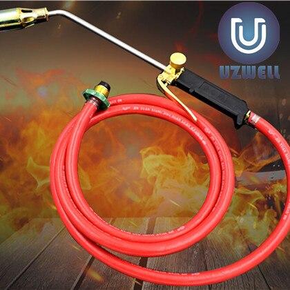 UZWELL Double 50 Switch Welding Butane Burner Ignition gas torch flame gun liquefied gas gun Welding