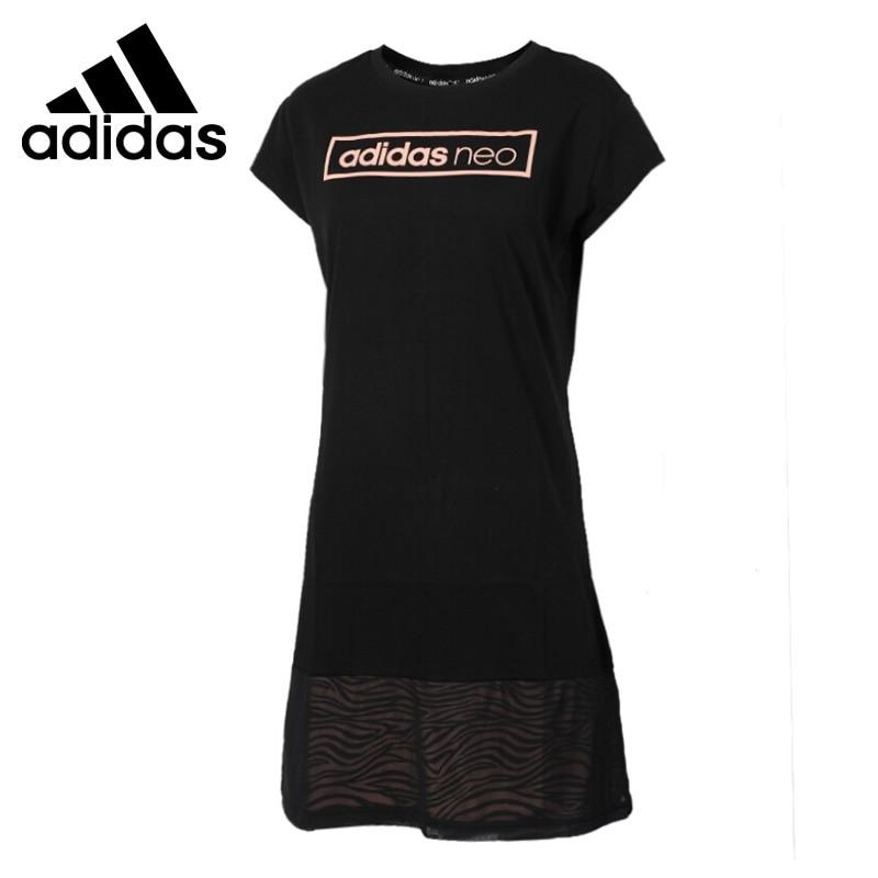 Original New Arrival 2017 Adidas NEO Label Women's Dress short sleeve Sportswear original new arrival 2017 adidas neo label m cs graphic men s t shirts short sleeve sportswear