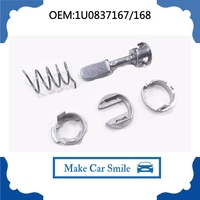 FOR AUDI A6 DOOR LOCK CYLINDER REPAIR KIT FRONT-RIGHT-LEFT