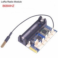 868 МГц LoRa радио узел V1.0 IOT Lora модуль RFM95 SX1276 для Arduino ATmega328P 3,7-12 В Антенна UFL Интернет вещей FZ3338