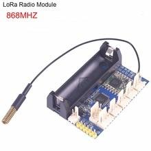 868 mhz LoRa Radio noeud V1.0 IOT Lora Module RFM95 SX1276 pour Arduino ATmega328P 3.7 12 V uFL antenne Internet des choses FZ3338
