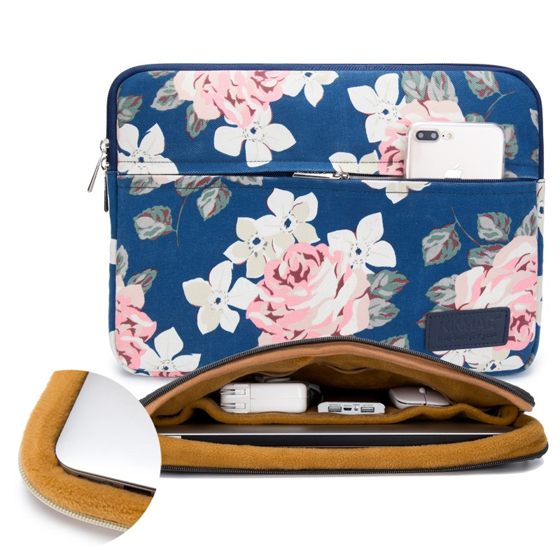 """Image 3 - 2019 New Brand Kinmac Sleeve Case For Laptop 13"""",15"""",15.6 inch Notebook Bag For MacBook Air Pro 13.3,15,4 Free Drop Shipping-in Laptop Bags & Cases from Computer & Office"""