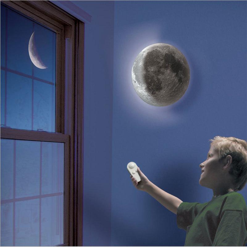 Led 치유 문 밤 빛 6 종류 단계 치유 조정 가능한 3d 문 램프 벽 매달려 천장 램프에 대 한 원격 제어-에서LED 나이트 라이트부터 등 & 조명 의 Halojaju Department Store