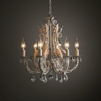 Lustre Vintage Chandelier Crystal Lighting For Living Dining ...
