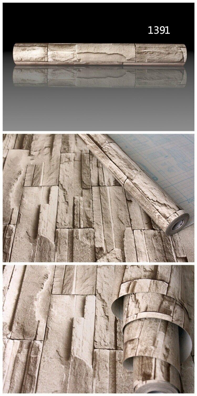 Awesome PVC Vinyl Moderne Faux Ziegel Stein 3D Tapete Wohnzimmer Schlafzimmer  Badezimmer Home Wandaufkleber Dekoration, 0,45 Mt * 5 Mt/rolle Mit Kleber  In PVC Vinyl ... Design Ideas