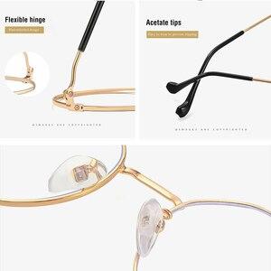 Image 4 - Gafas de protección contra luz azul para hombre y mujer, lentes con montura para juegos de ordenador, resistentes a la radiación, con UV400