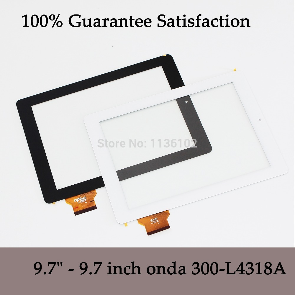 9.7 inch case for  onda V971 971 s V972 quad-core box capacitive touch screen 300-L4318A touch panel Free shipping