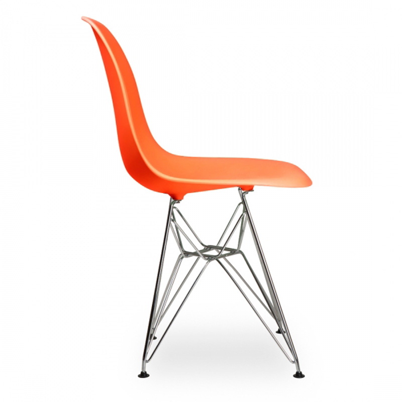 6 Pieces For A Lot Creative PP Plastic Side Chairs For Living Room Color  Orange In Dining Chairs From Furniture On Aliexpress.com | Alibaba Group
