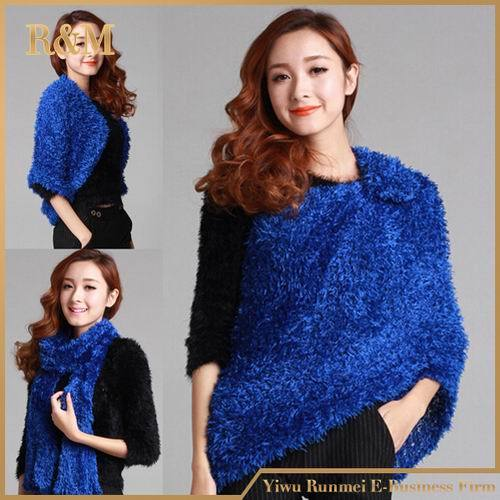Top Trendy Women Winter Magic Scarf Soft Woolly Pashmina Knit Echarpes Wrap Charcoal Fiber Yrd Warm Comfortable Shawls Pashmina