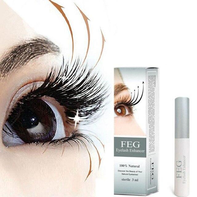 aa821afeae9 3ml FEG Eyelash Enhancer Eye Lash Growth Treatments Rapid Growth Serum  Liquid 100% Natural M01542