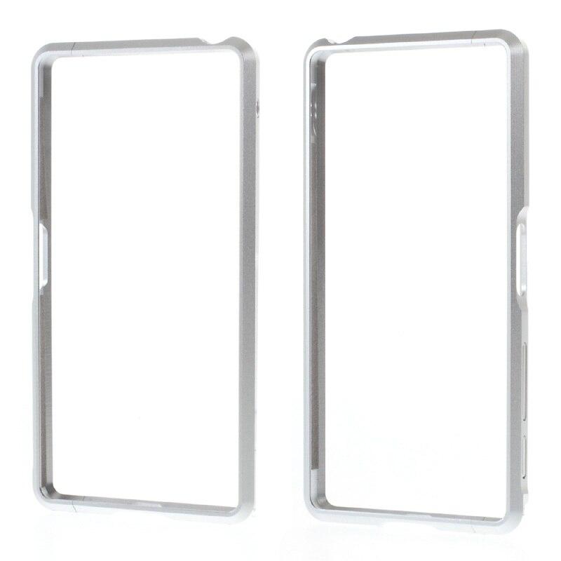 imágenes para Para sony xperia x f5122 teléfono pegatinas casos marco de aleación de aluminio del metal case para sony xperiax