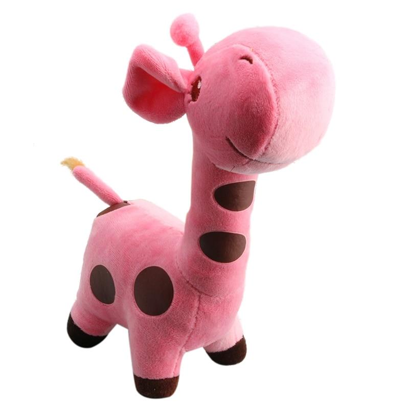 Lovely Giraffe Soft Plush Toy Animal Dolls Baby Kid Birthday Party Gift