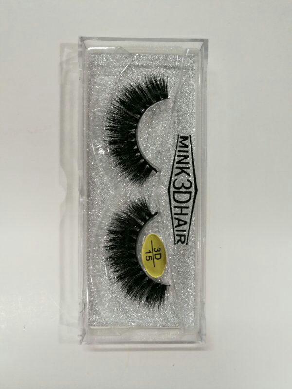Romantic Bear Hand made Mink Hair 3D Fake Eyelashes Thick False Lashes 18 styles available 240sets/lot DHL Free YL004