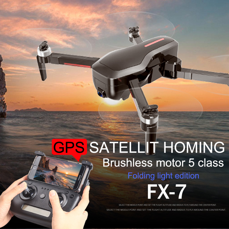 Image 3 - Professional FPV GPS Drone 4K with Camera HD WIFI Brushless Motor RC Quadcopter 25 Minute Flight Time Racing Helicopter RTF Dron-in RC Helicopters from Toys & Hobbies