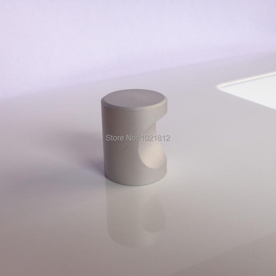 10X Кабинет Ручка Ручка Пространство Алюминия Твердых Шкаф Ящика Кухня Ручки Тянет на Одно Отверстие 17 мм