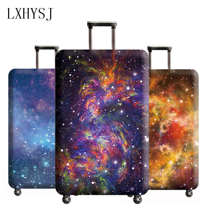 LXHYSJ The New Luggage Cover Elastic Luggage Protection Covers For 18-32 Inch Suitcase Case Baggage Cover Travel Accessories