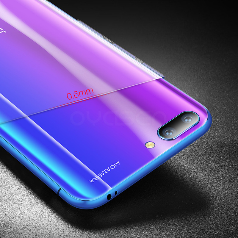 Ultra thin Transparent Cases For Huawei Honor 10 5 84 39 Silicone Soft Clear Phone Back Cover Shell For Huawei Honor 10 Honor10 in Fitted Cases from Cellphones amp Telecommunications