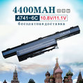 4400 mah batería para acer aspire as10d31 as10d51 as10d41 as10d61 as10d71 as10d75 as10d81 v3 e1 4741 5742g 5552g 5742 5750g 5741g