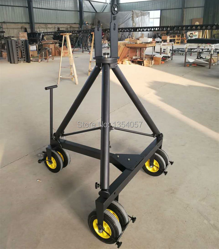 5m 3 axis jimmy jib crane for with motorized dutch head loading 16kg professional dv camera crane jib 3m 6m 19 ft square for video camera filming with 2 axis motorized head