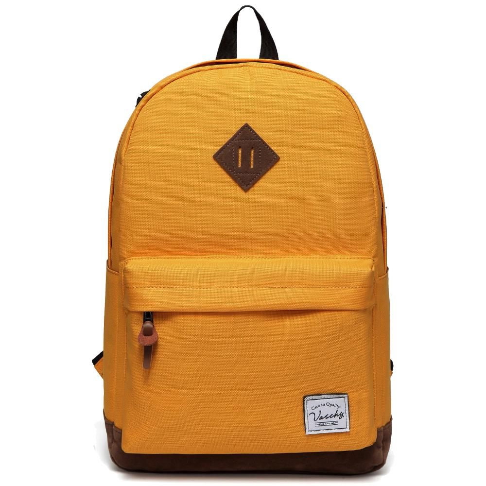 VASCHY Water Resistant Rucksack School Bag