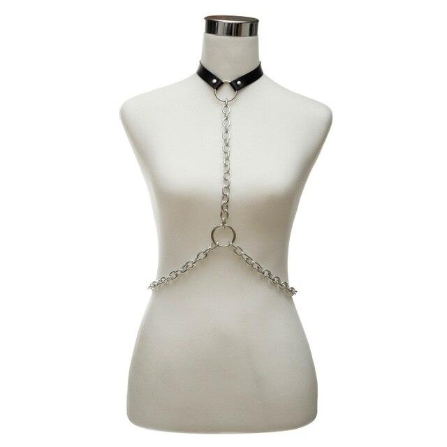 Goth Body Chain Harness...