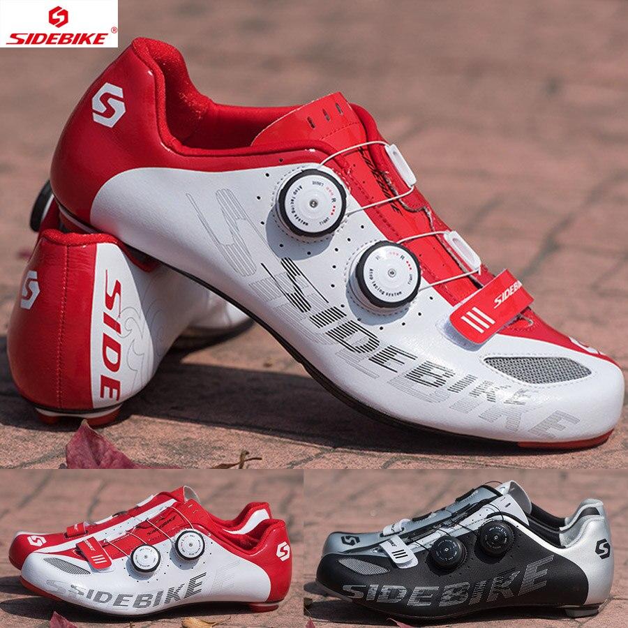 Cycling Shoes Men Bike Shoes Mountain Road Superfine Fiber Outside MTB Breathable M350 Carbon Fiber Sole Non-slip Bicycle Shoes
