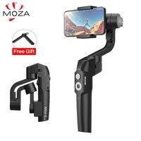 MOZA MINI S 3 Axis Foldable Pocket Sized Handheld Gimbal Stabilizer for iPhone XS Smartphone GoPro VS Smooth 4 MINI MI VIMBLE 2