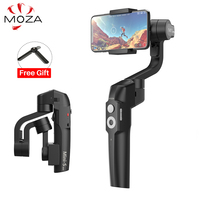 MOZA MINI S 3 Axis Foldable Pocket Sized Handheld Gimbal Stabilizer for iPhone XS Smartphone GoPro VS Smooth 4 MINI MI VIMBLE 2