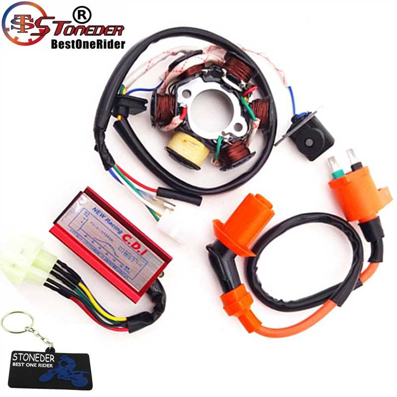 gy6 racing cdi wiring diagram ac stoneder stator magneto racing ignition coil 6 pins wires ac cdi  ignition coil 6 pins wires ac cdi