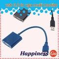Новый USB 3.0 к VGA Multi-графический Адаптер Конвертер Кабель 1920x1080 HD Win7/8