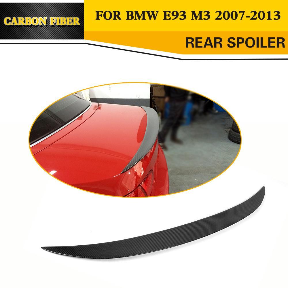 Углеродное волокно задний багажник спойлер для BMW 3 серии E93 325i 328i 330i 335i 2 двери Кабриолет E93 M3 2007-2013