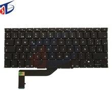 Original ES Spain keyboard keypad for MacBook Pro Retina 15″ Spanish Espana Keyboard clavier A1398 2012-2015 year