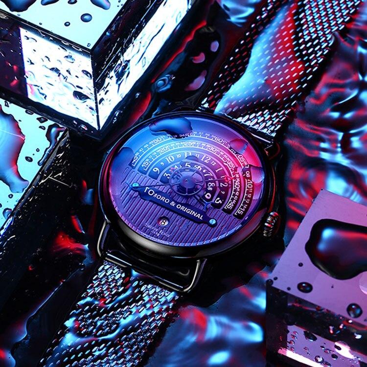 Jeune nouvelle mode montres hommes montres créatives uniques Top marque de luxe étanche militaire sport montre Relogio Masculino