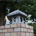 Имитация камня наружная лампа внутренний двор светодиодный столб в пасторальном стиле Iight настенный светильник корпус светильник