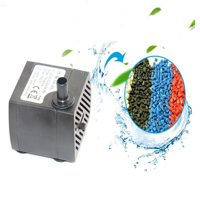 Submersible Water Pump With 12 LED Lights For Fountain Pool Garden Pond Swimming Pool WWO66