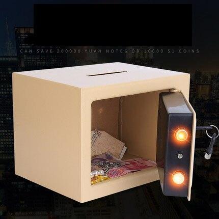 Aiboully tirelire électronique tirelire pièces de monnaie boîte d'économie ATM banque coffre-fort billet de banque enfants adulte cadeau