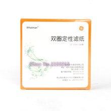 Carta da Filtro qualitativa Diametro 11 centimetri GE Sanità Carta da Filtro Carta da Filtro di Rilevamento Olio Circolare 5 packs, totale 500pcs