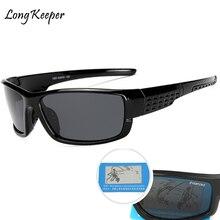 Polarized Mens Sunglasses UV400 Mirror HD Lens Vintage Sun Glasses Man Fishing 100% Eyewears 2018 New Long Keeper